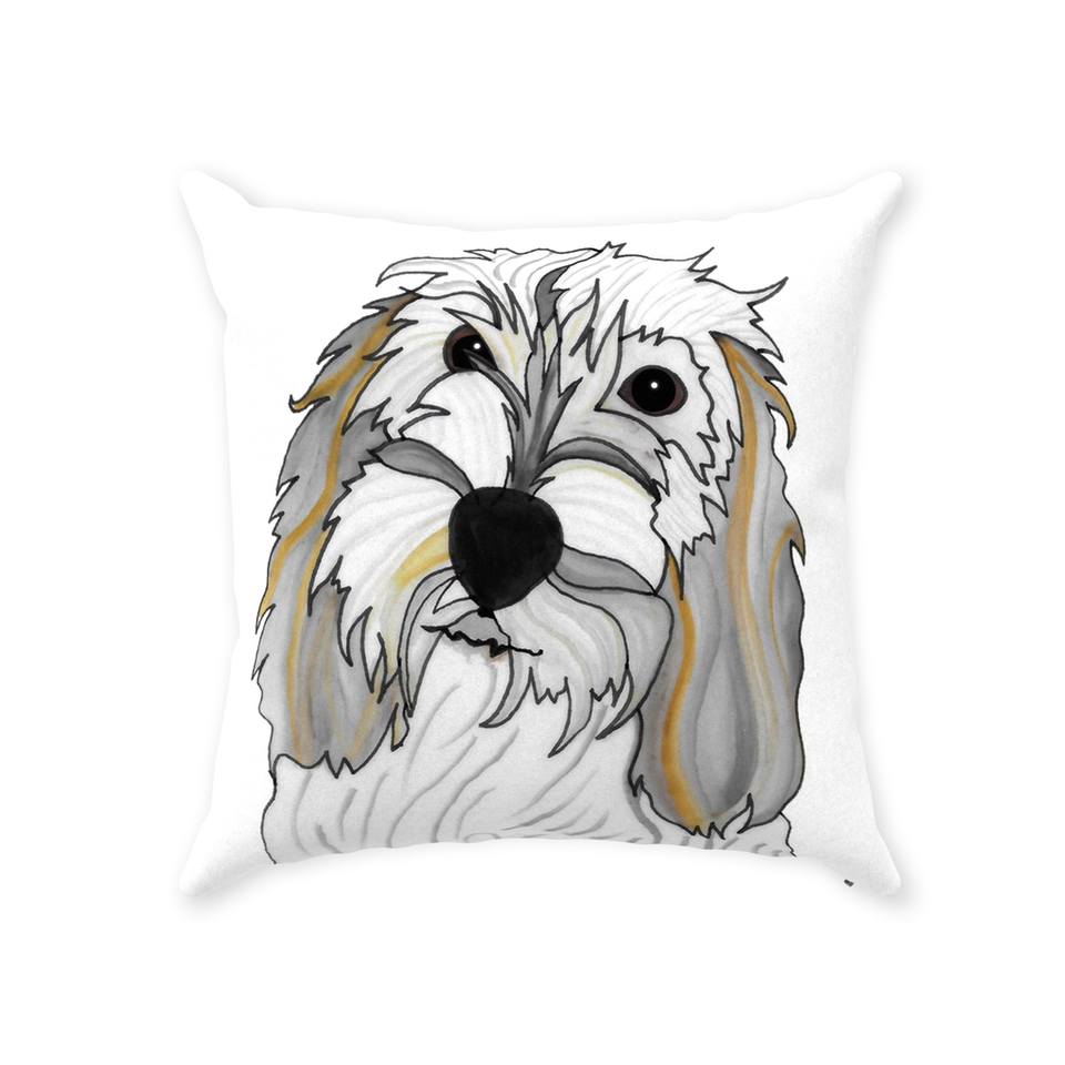 Petit Basset Griffon Vendeen Dog Indoor Pillow - 2 - SMH