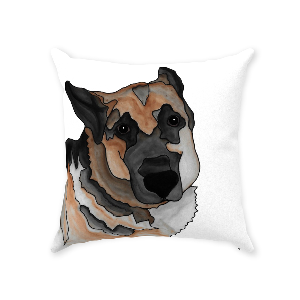 German Shepherd Dog Indoor Pillow - 2 - SMH