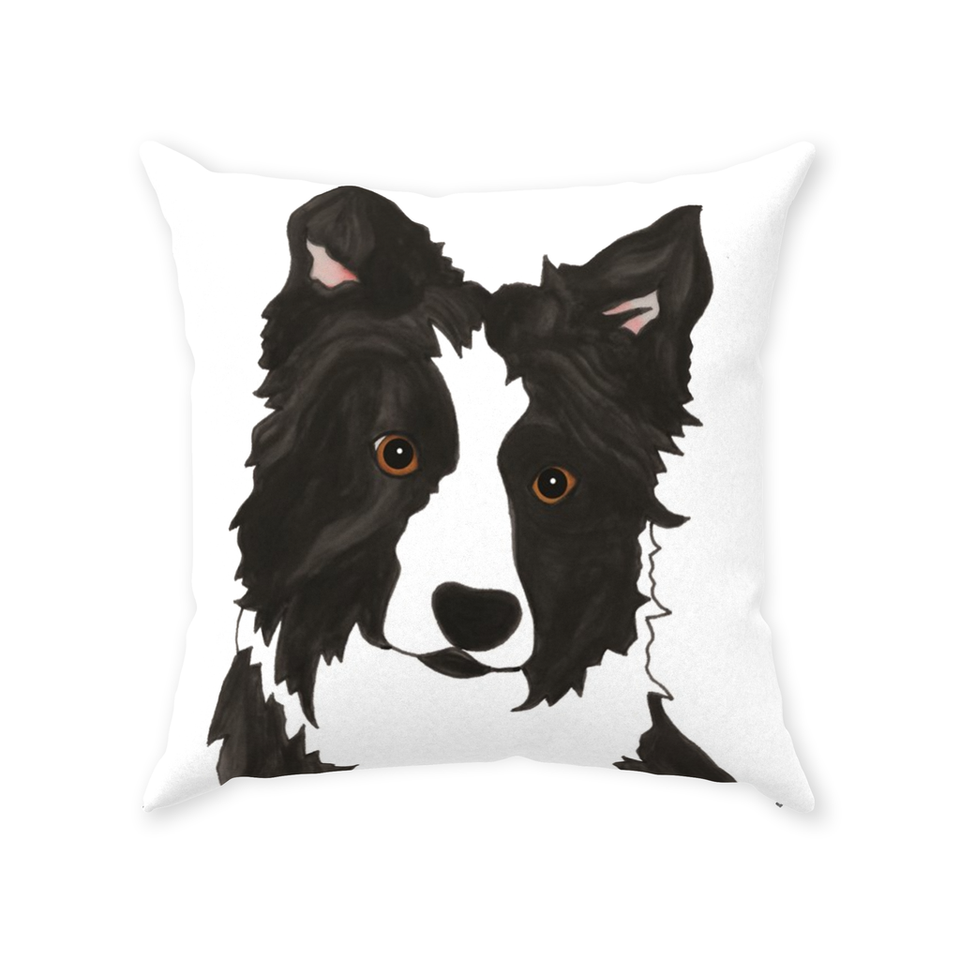 Border Collie Dog Indoor Pillow - SMH