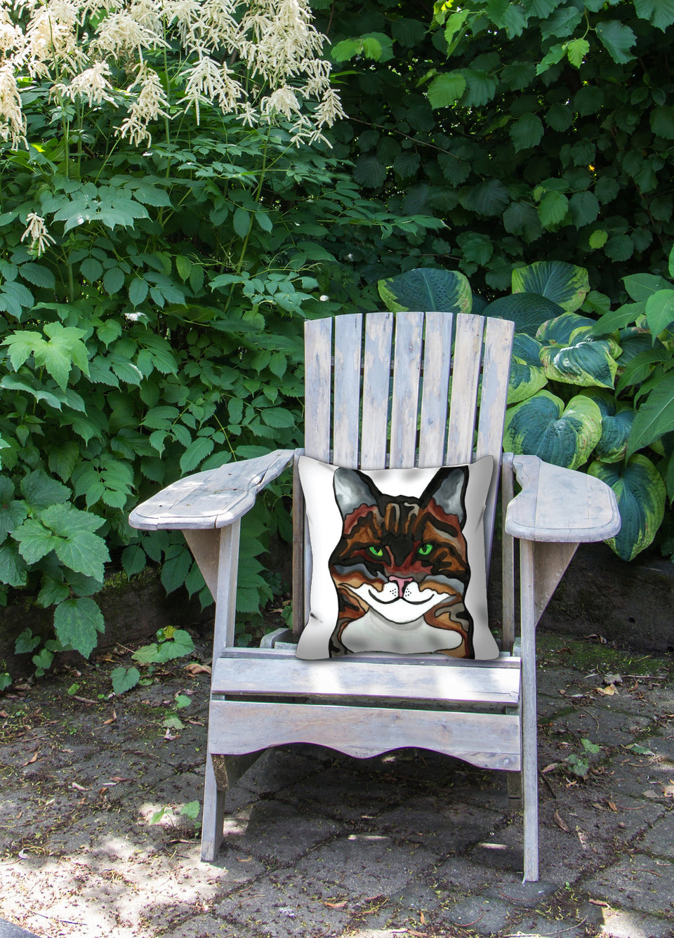 Tabby Cat Outdoor Pillow - SMH