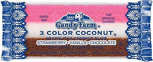 3 Color Coconut Bar