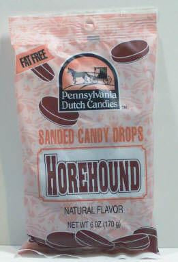Horehound Sanded Candy Drops