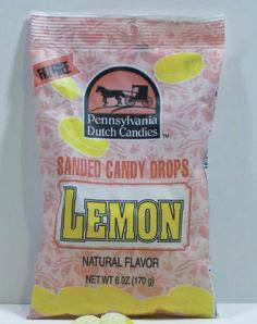 Lemon Sanded Candy Drops