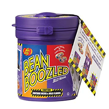 Bean Boozled Jelly Bean Cannister