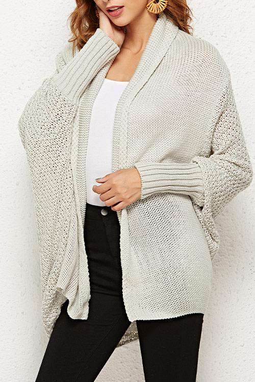 CielChic Knit Cardigan(12 Colors)-Sweaters & Cardigans-CielChic