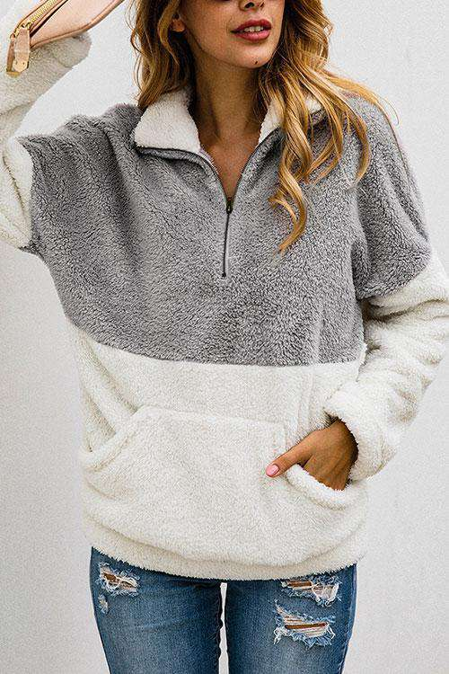 CielChic Pocketed Turtleneck Sweater(8 Colors)-Sweaters & Cardigans-CielChic
