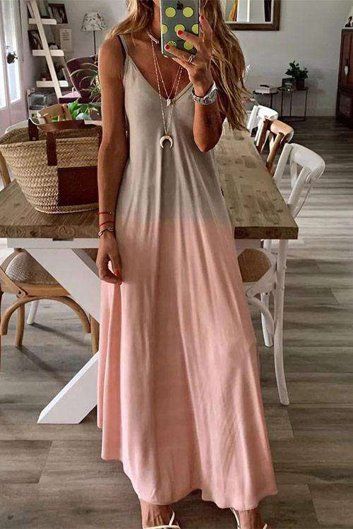 CielChic Slip Maxi Dress(5 Colors)-Dress-CielChic