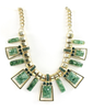 Green Jade Gem Necklace