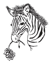 Load image into Gallery viewer, SAFARI ZEBRA PRINTABLE
