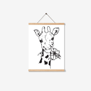 SAFARI GIRAFFE PRINTABLE