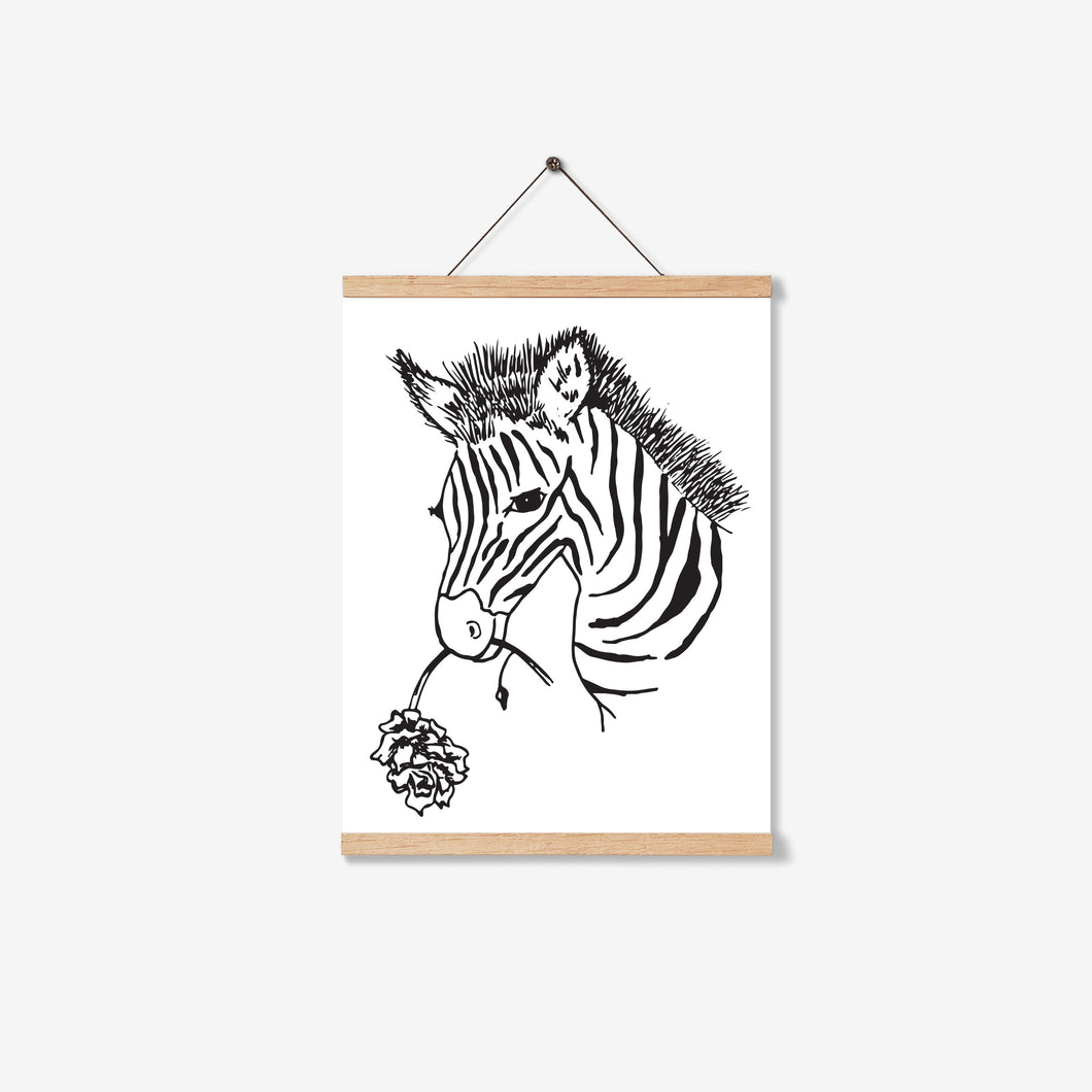 SAFARI ZEBRA PRINTABLE