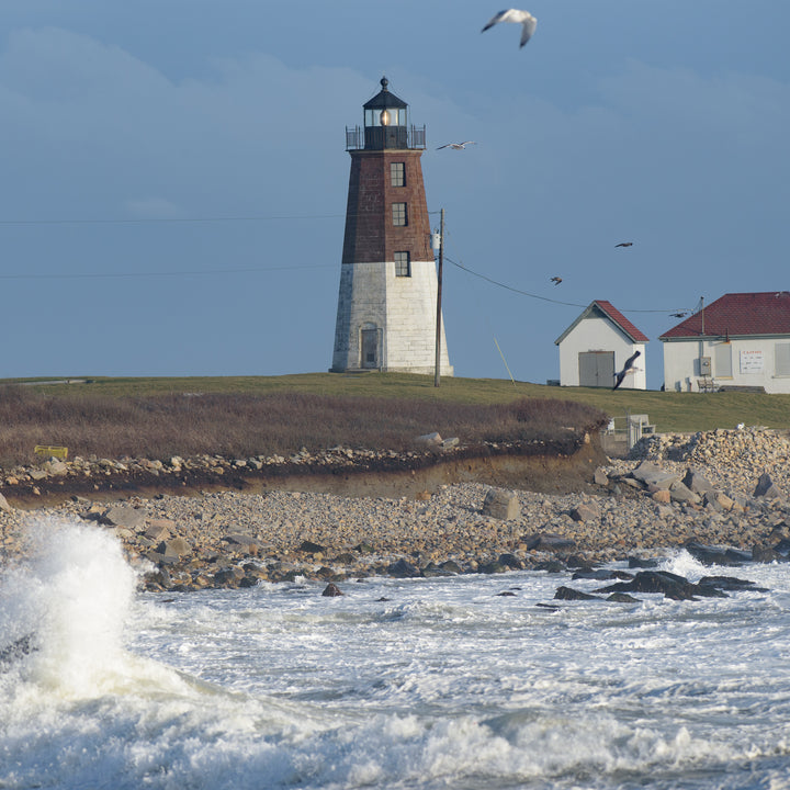 Point Judith Lighthouse #4 After the Storm 11-30-20