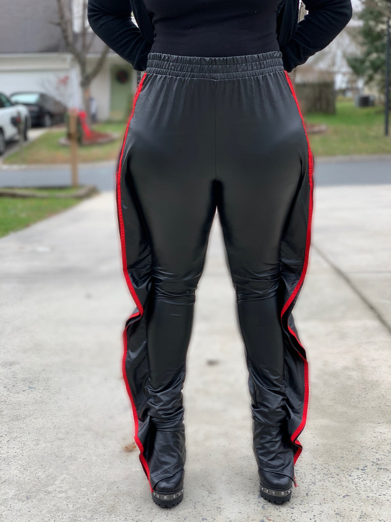Girl You Fly Leggings-Black