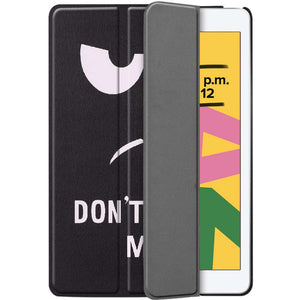 Just in Case Apple iPad 10.2 2019 Smart Tri-Fold Case (Do Not Touch)