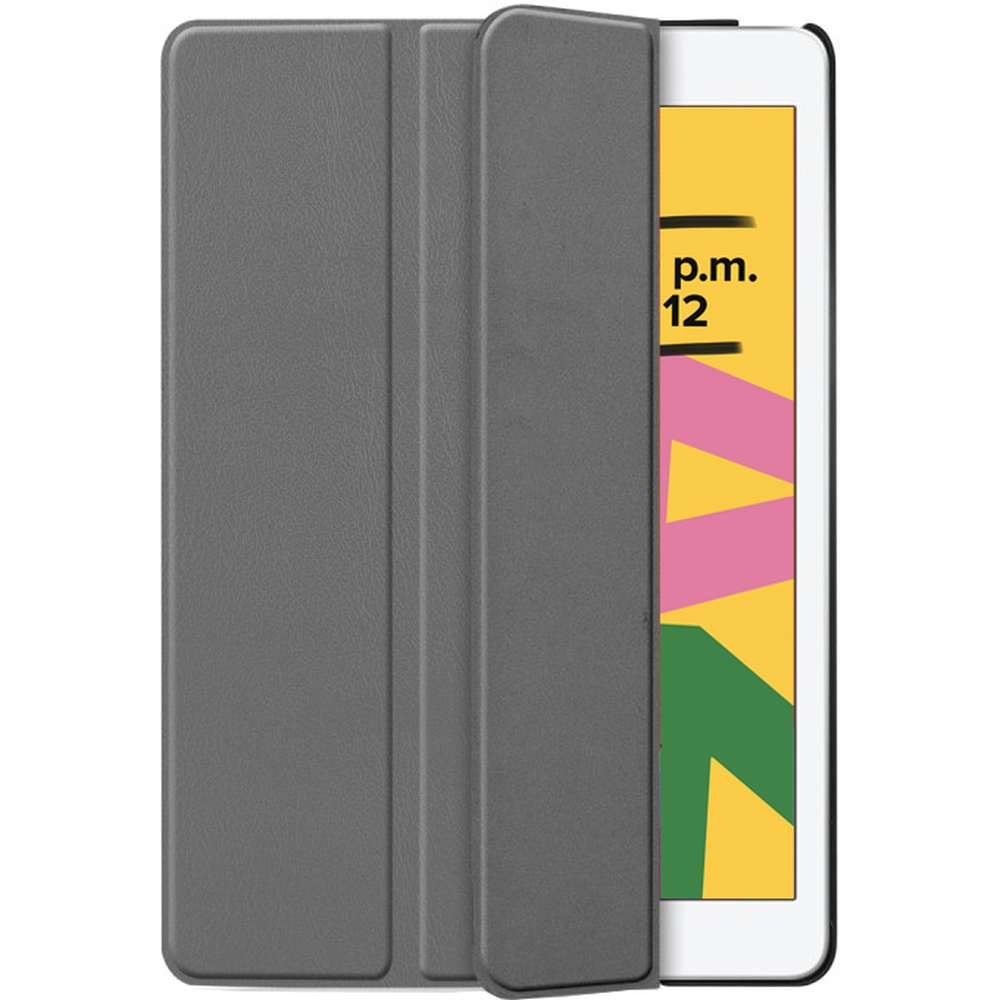 Just in Case Apple iPad 10.2 2019 Smart Tri-Fold Case (Grey)