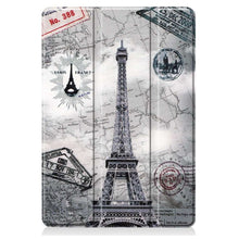 Load image into Gallery viewer, Just in Case Apple iPad 10.2 2019 Smart Tri-Fold Case (Eiffel Tower)