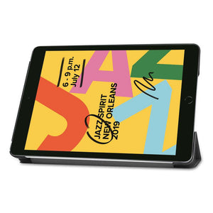 Just in Case Apple iPad 10.2 2019 Smart Tri-Fold Case (Black)