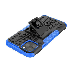 Rugged Hybrid cover voor Apple iPhone 11 Pro Max - Blauw