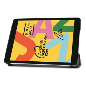 Just in Case Apple iPad 10.2 2019 Smart Tri-Fold Case (Eiffel Tower)