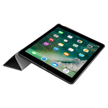 Load image into Gallery viewer, Just in Case Apple iPad 9.7 (2017 / 2018) Smart Tri-Fold Case (Black)