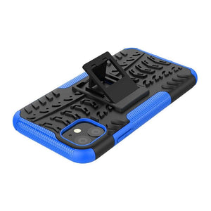 Just in Case Rugged Hybrid Apple iPhone 11 Case (Blue)
