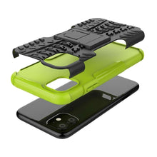 Load image into Gallery viewer, Just in Case Rugged Hybrid Apple iPhone 11 Case (Green)