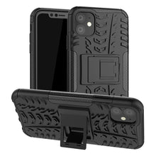 Load image into Gallery viewer, Just in Case Rugged Hybrid Apple iPhone 11 Case (Black)
