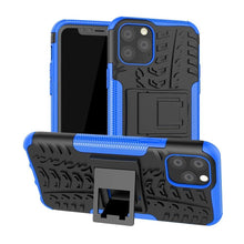 Load image into Gallery viewer, Rugged Hybrid cover voor Apple iPhone 11 Pro Max - Blauw
