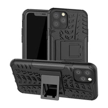 Load image into Gallery viewer, Rugged Hybrid cover voor Apple iPhone 11 Pro Max - zwart