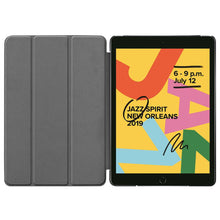 Load image into Gallery viewer, Just in Case Apple iPad 10.2 2019 Smart Tri-Fold Case (Black)