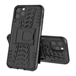 Rugged Hybrid cover voor Apple iPhone 11 Pro Max - zwart