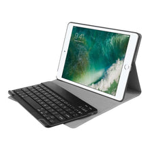 Load image into Gallery viewer, Just in Case Apple iPad 9.7 (2017 / 2018) Premium Bluetooth Keyboard Cover (Black)