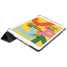 Load image into Gallery viewer, Just in Case Apple iPad 10.2 2019 Smart Tri-Fold Case (Do Not Touch)