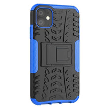 Load image into Gallery viewer, Just in Case Rugged Hybrid Apple iPhone 11 Case (Blue)