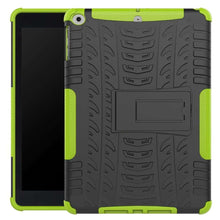 Load image into Gallery viewer, Just in Case Rugged Hybrid Apple iPad 9.7 (2017 / 2018) Case (Green)