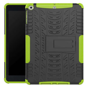 Just in Case Rugged Hybrid Apple iPad 9.7 (2017 / 2018) Case (Green)