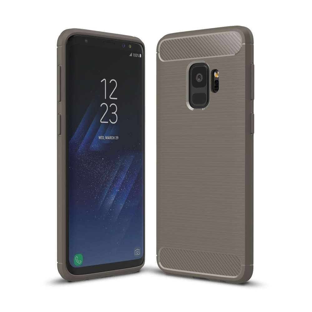 Just in Case Rugged TPU Samsung Galaxy S9 Case (Grey)
