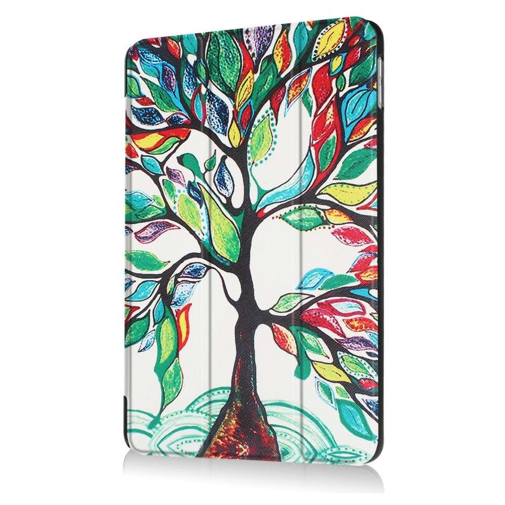 Just in Case Apple iPad 9.7 (2017 / 2018) Smart Tri-Fold Case (Painted Tree)
