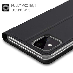 Just in Case Apple iPhone 11 Pro Max Wallet Case Slimline - Black
