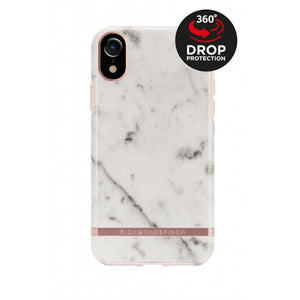 Richmond & Finch Freedom Series Apple iPhone XR White Marble/Rose Gold