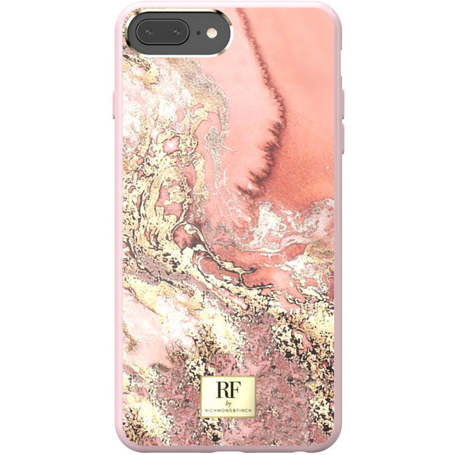 Richmond & Finch RF Series TPU Case Apple iPhone 6/6S/7/8 Plus Pink Marble/Gold