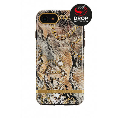 Richmond & Finch Freedom Series Apple iPhone 6/6S/7/8 Chained Reptile/Gold