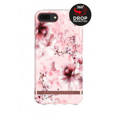 Richmond & Finch Freedom Series Apple iPhone 6/6S/7/8 Plus Pink Marble Floral