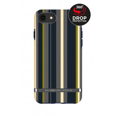 Richmond & Finch Freedom Series Apple iPhone 6/6S/7/8 Navy Stripes