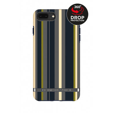 Richmond & Finch Freedom Series Apple iPhone 6/6S/7/8 Plus Navy Stripes