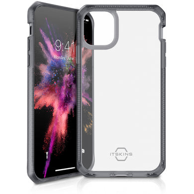 ITSKINS Level 2 HybridFrost for Apple iPhone 11 Pro Transparent Black