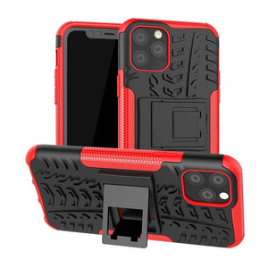 Just in Case Rugged Hybrid Apple iPhone 11 Pro Case (Red)