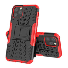 Load image into Gallery viewer, Just in Case Rugged Hybrid Apple iPhone 11 Pro Case (Red)