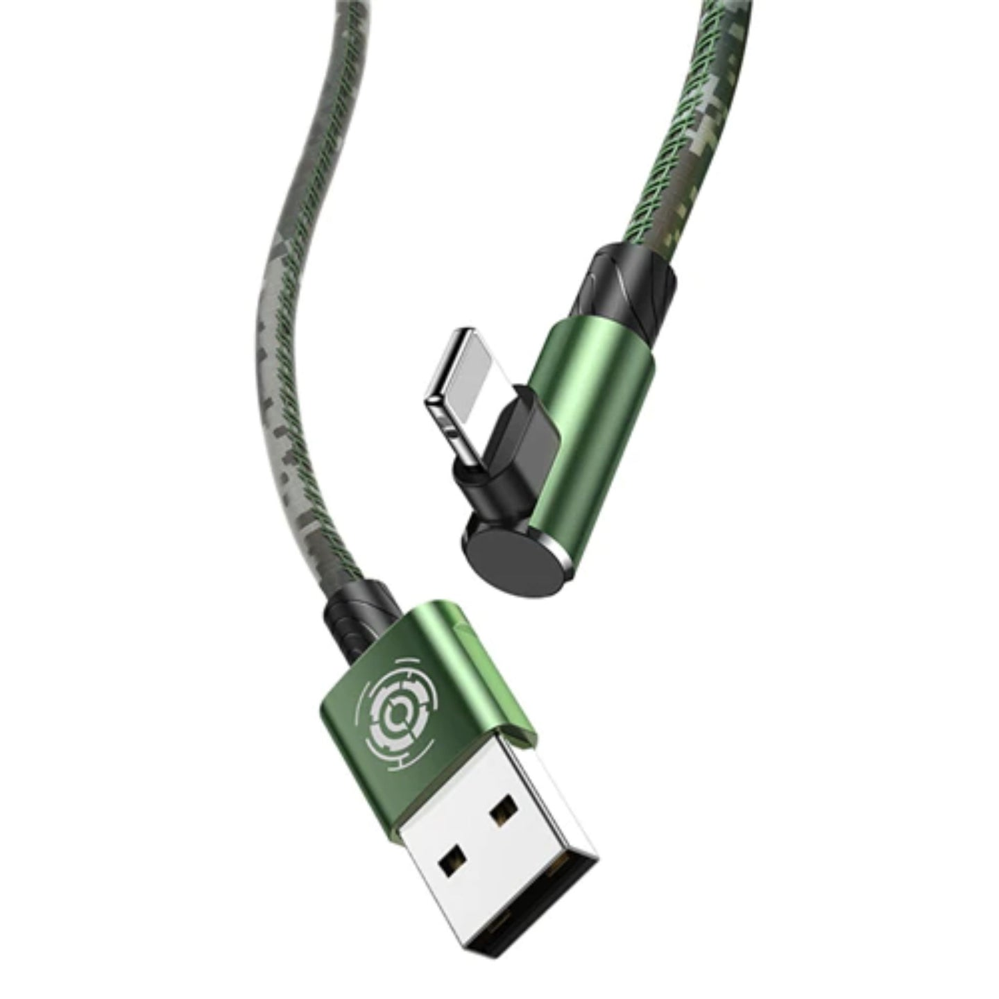 Lightning Elbow series cable - Army green