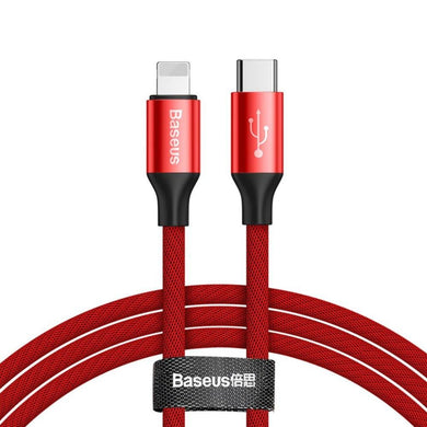 Type-C to Lightning Yiven series cable - Red